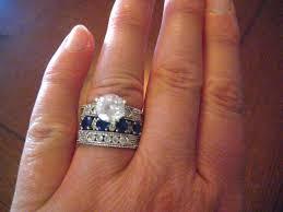 wedding ring big my big wedding ring the sahw experiment