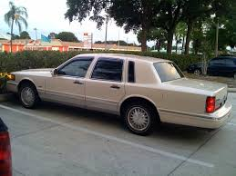 1996 lincoln town car information and photos zombiedrive