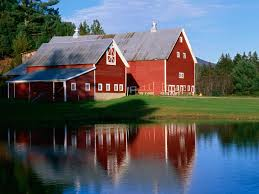 download background twin barns at sunset vermont free cool
