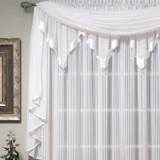 nimbus stripe ascot valances and window treatments