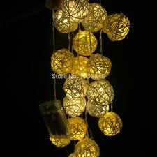 best 20handmade rattan ball string lights fairy light ideas