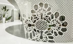 archstudio transposes nail art into a steel lace space news