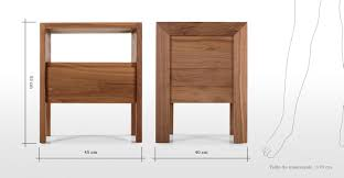 standard bedside table dimensions table designs bedside tables sizes hungrylikekevin com