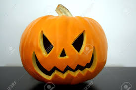 scary halloween pumpkin face stock photo picture and royalty free