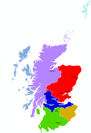 Stirling Scotland Map Map Of Scotland Showing Regions And Major Cities Maps