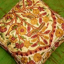 Cushion Covers For Sofa Pillows by Tree Of Life Decorative Cushion Cover Hand Embroidered 16 X 16