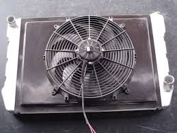 electric radiator fans and shrouds mcjacks new aftermarket and custom corvette parts