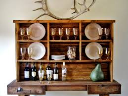 Kitchen Hutch Cabinet by Kitchen Diy Rustic Hutch Uotsh