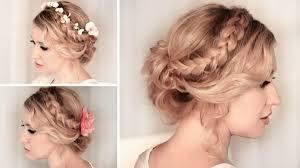id e coiffure pour mariage 50 idées pour votre coiffure mariage cheveux mi longs archzine fr