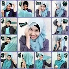 tutorial hijab segi empat paris simple 30 tutorial hijab segi empat paris simple untuk sehari hari kuliah