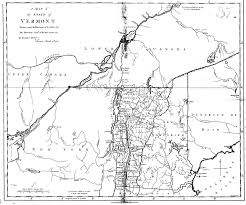 A Map Of Massachusetts by Ira Allen U0027s Map Of Vermont 1798