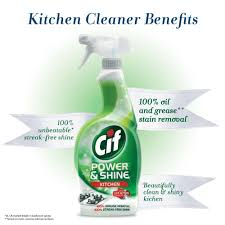 cif kitchen cleaner power u0026 shine 700 ml amazon in health