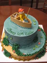 fishing cake ideas 60th birthday fishing cake cakecentral