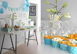 1st birthday party themes for boys birthday party decoration ideas for baby boy image inspiration