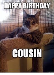 Happy Birthday Cousin Meme - happy birthday cousin memescom cousins meme on me me