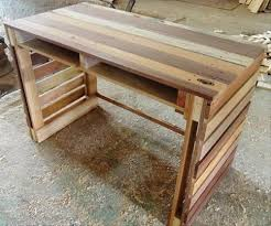 Diy Pallet Desk Some Useful Ideas On Reclaimed Diy Pallet End Tables And