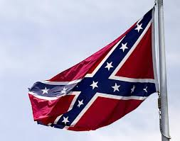 Giant Confederate Flag A Tiny Plot Of Land With Big Confederate Flag At Center Of Sc Town