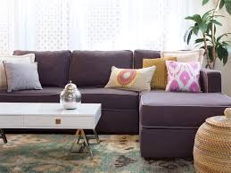 Purple Sectional Sofa Purple Sectional Sofa Chaise Home Design Ideas