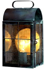Colonial Outdoor Lighting New Rustic Wall Sconce Outdoor Light Copper Lantern