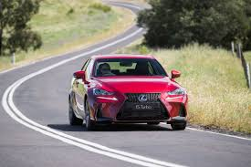 lexus sport sedan 2017 refreshed 2017 lexus is range pricing and specification announced