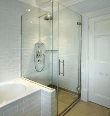 Frameless Glass Shower Door Kits Frameless Glass Shower Awesome Glass Shower Doors For Bathroom