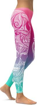 bright ornamental skull