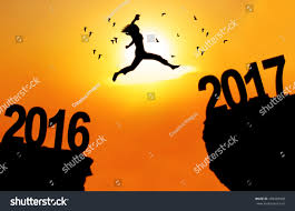 concept new year 2017 silhouette stock photo 499428508