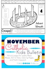 catholic kids november 2016 catholic kids bulletin