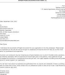 best cover letter accounting