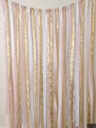 ribbon backdrop wedding ribbon backdrop gold white pink wedding by mogorgeous