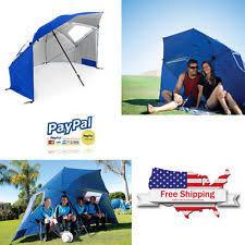 Portable Patio Umbrella by Sport Brella Fabric Garden U0026 Patio Umbrellas Ebay