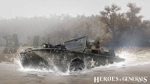 amphibious vehicle american amphibious vehicle appearing in garman update heroes
