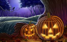 creepy halloween backgrounds halloween pumpkin wallpaper wallpapersafari