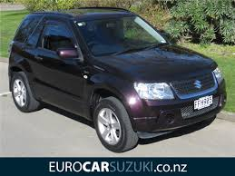 suzuki grand vitara 3 door 1 6 manual nz new 2009 eurocar suzuki