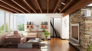 photography beautiful living room couch table stair interior