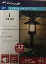 Westinghouse Low Voltage Led Landscape Lighting Westinghouse 1 Walkway Path Lighting Ebay