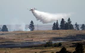 Wildland Fire News Washington State by Fire Near Fishtrap Lake No Longer Threat To Homes The Spokesman
