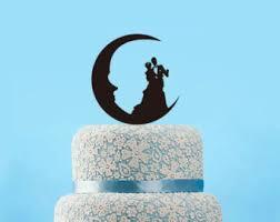 moon cake topper moon cake topper etsy