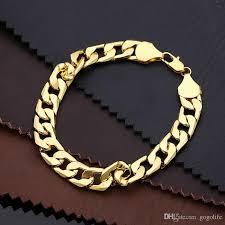 copper bracelet men images Online cheap 24k ywllow gold pure copper bracelet men women jpg