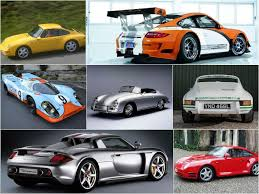 all the cars the 7 most iconic porsche cars of all luxurylaunches