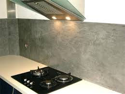 beton cire pour credence cuisine carrelage magazine back newsindo co