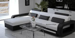 canapé d angle design en cuir italien pas cher marseille