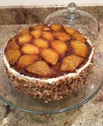 pineapple upside down cake double layer with pineapple