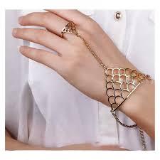 bracelet hand chain images Rings enchantress finger ring hand chain bracelet crazyberry jpg