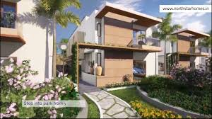 homes built into hillside luxury villas in hyderabad hillside by northstar homes youtube