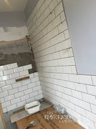 bathroom renovation u2013 tiling and grouting the restoration couple