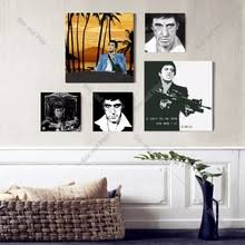 Scarface Bedroom Set Popular Scarface Canvas Art Buy Cheap Scarface Canvas Art Lots