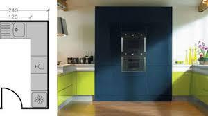 exemple de cuisine en u plans cuisine maison 7 solutions pour une disposition en u