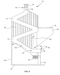 Pellet Burner Patent Us20070186920 Gravity Feed Natural Draft Pellet Stove