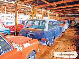 Barn Finds Cars 200 Car Kiwi Barn Find Ccfs Uk
